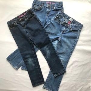 Children's Place Girls Jeans Bundle 6x/7